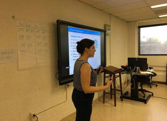 TBG's certified instructor teaches food handler training class